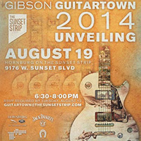 Gibson GuitarTown Unveiling Event